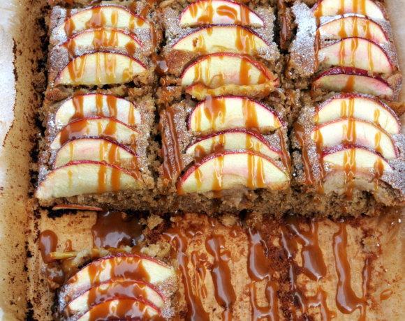Spiced Toffee Apple Cake (Sarah Cook's Recipe)