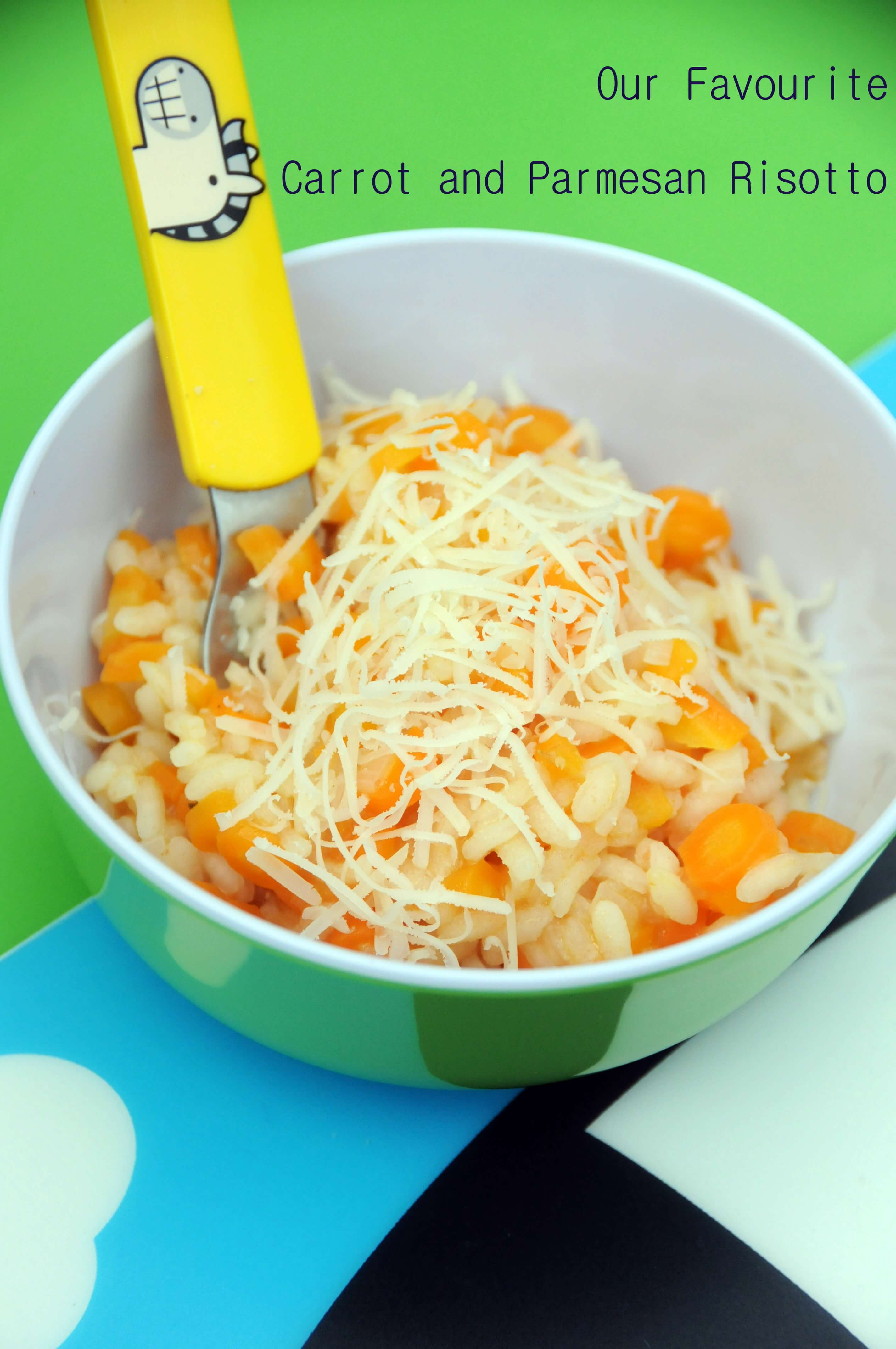 Our Favourite Carrot and Parmesan Risotto - Ren Behan Food
