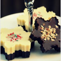 Chocolate Snowflakes and Fairy Cakes