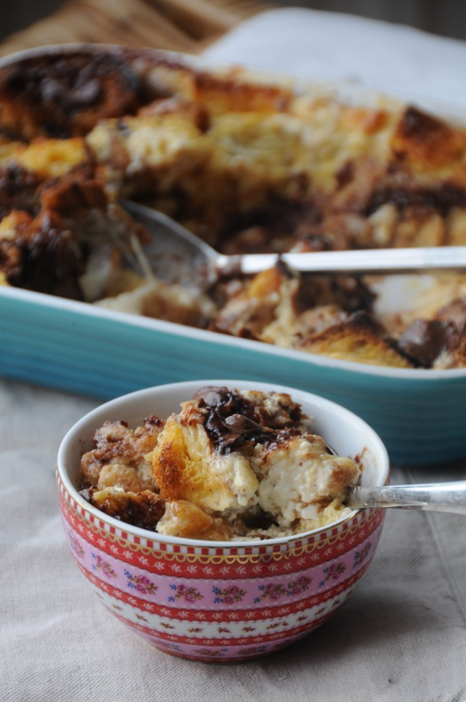 Nutella Bread Pudding with Leftover Christmas Panettone - Ren Behan ...