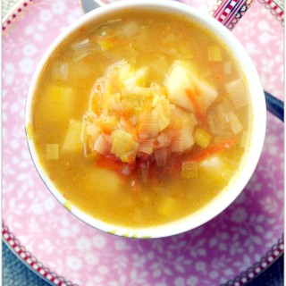 Golden Leek Soup for a Wise Man