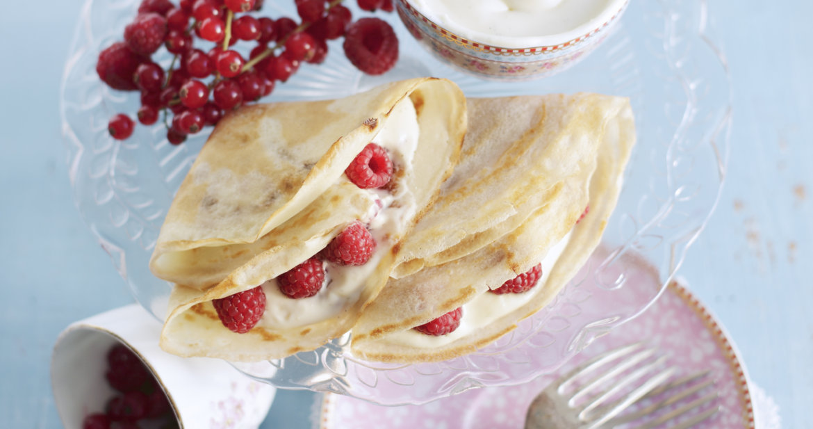 My final project shot - Polish Pancakes with Cream Cheese - photo by Stuart Ovenden