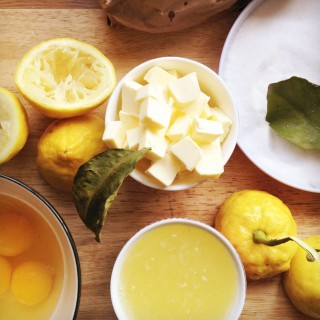 In Season: Lemonade Scones and Homemade Amalfi Lemon Curd