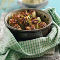 St David's Day Recipe: Welsh Lamb and Rosemary Stuffed Leeks