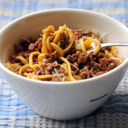 Slow Cook Bolognese Ragu