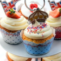 Diamond Jubilee Cupcake Ideas