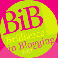The Brilliance in Blogging Awards at Britmums Live!
