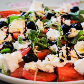 Fresh Buffalo Mozzarella and Tomato Salad