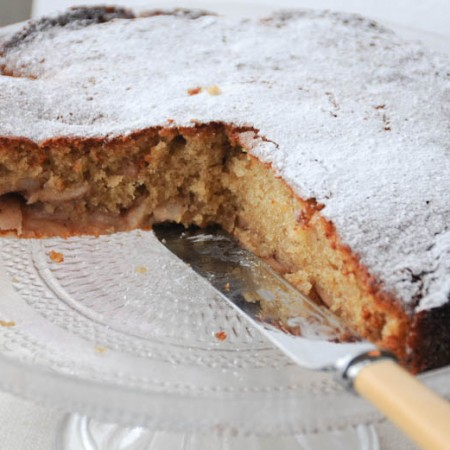 Cinnamon Apple Cake-1-5