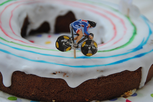 Olympic Velodrome Cake by Gill Bland