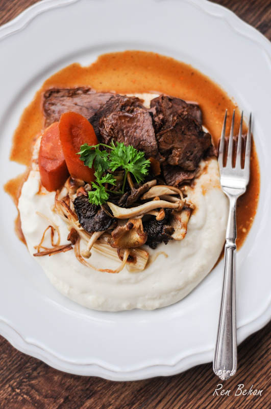 Beef Brisket Celeriac Mash