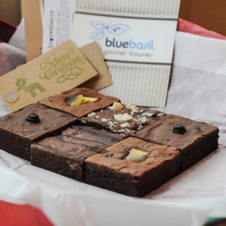 BlueBasil Brownies