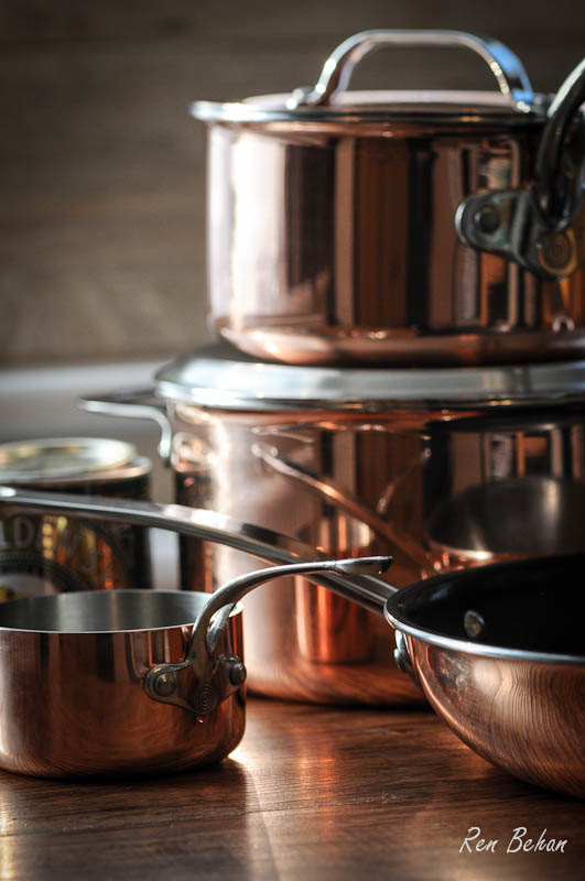 ProWare Copper Pans