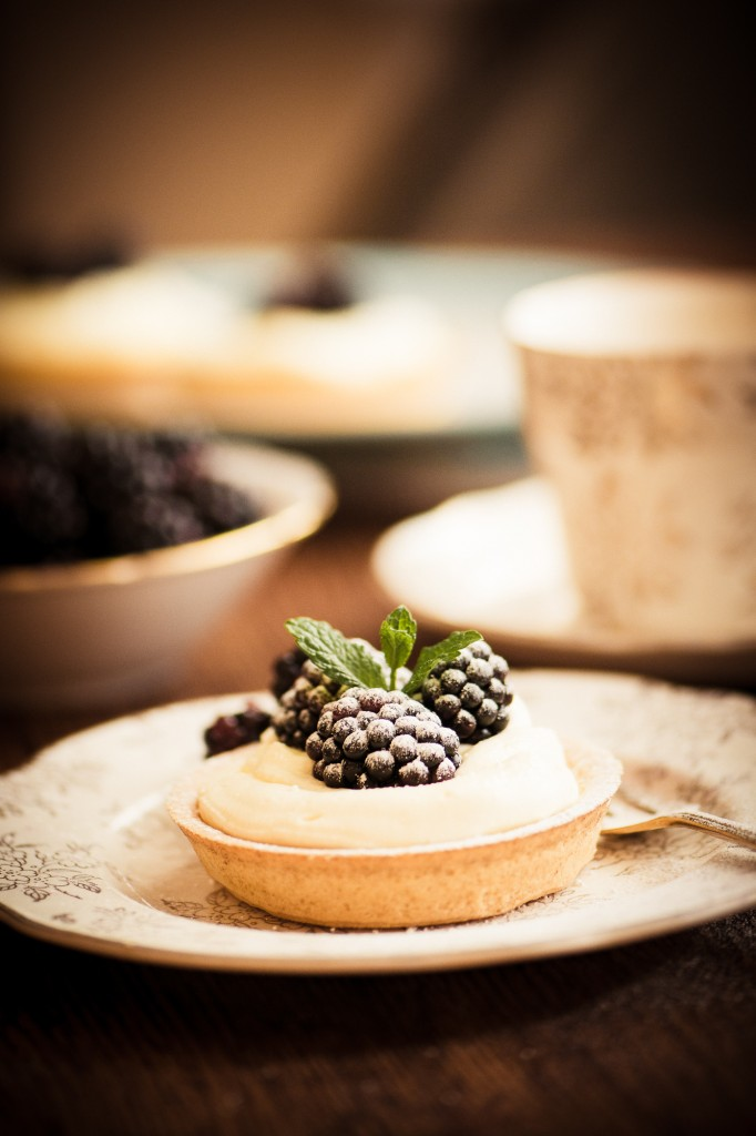 Michelle Wiggett Blackberry Tart