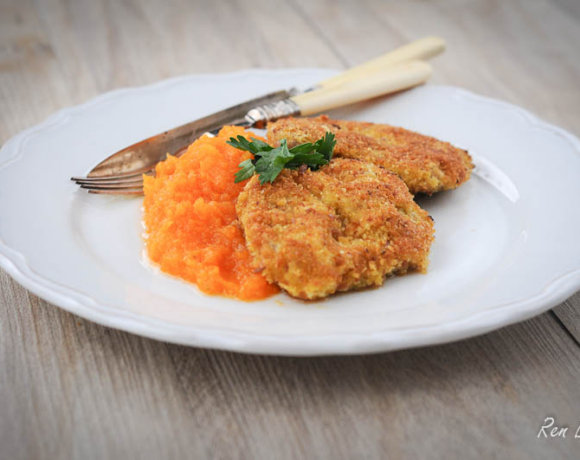 Breaded Pork Steaks (Polish Style)