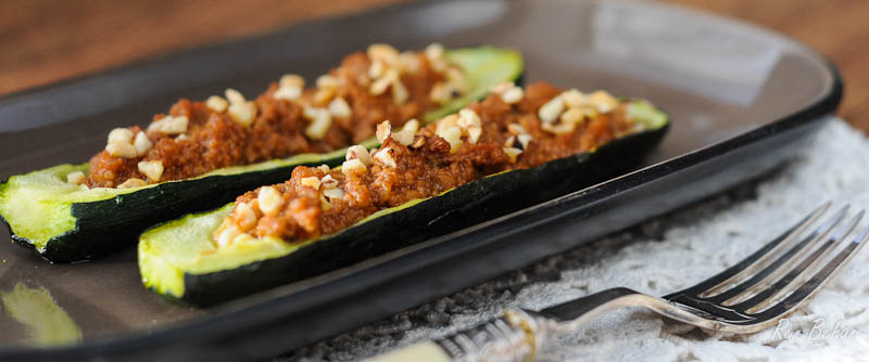 Courgette or Zucchini Boats