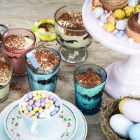 Chocolate Orange Easter Tiramisu Party