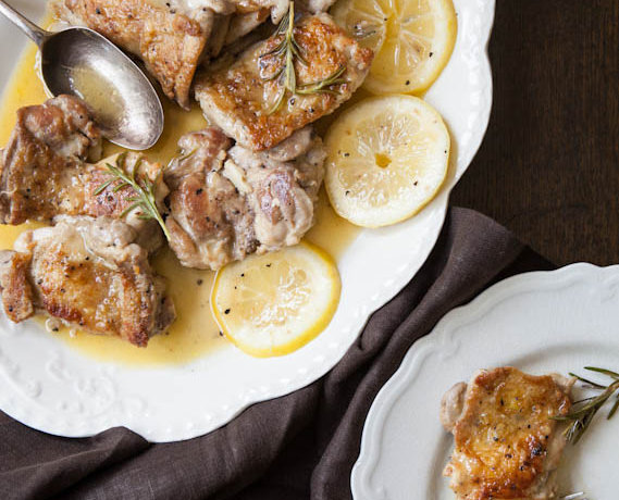 Alternative Easter Lunch: Pollo al Limone from 'The Amalfi Coast'