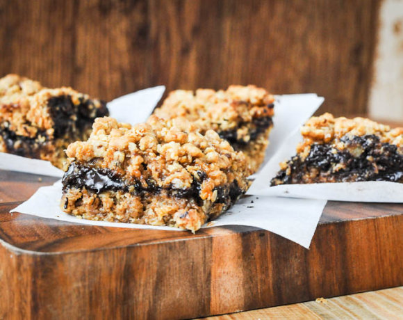 Salted Caramel Chocolate Oatmeal Bars and Bake Sale Ideas