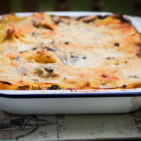 Chicken and Mushroom Lasagne (Great British Farmhouse Cookbook)