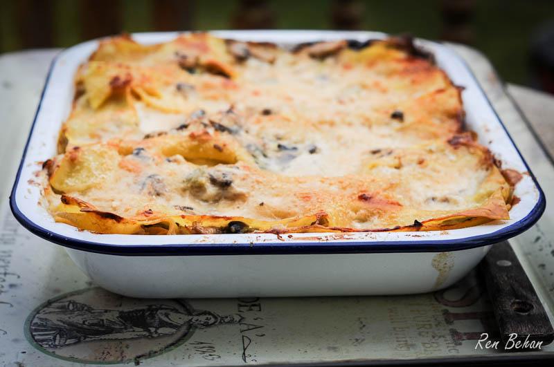 Yeo Valley Chicken and Mushroom Lasagne