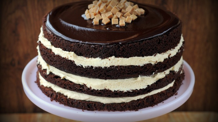 The 'Big Daddy' Salted Caramel Chocolate Fudge Cake