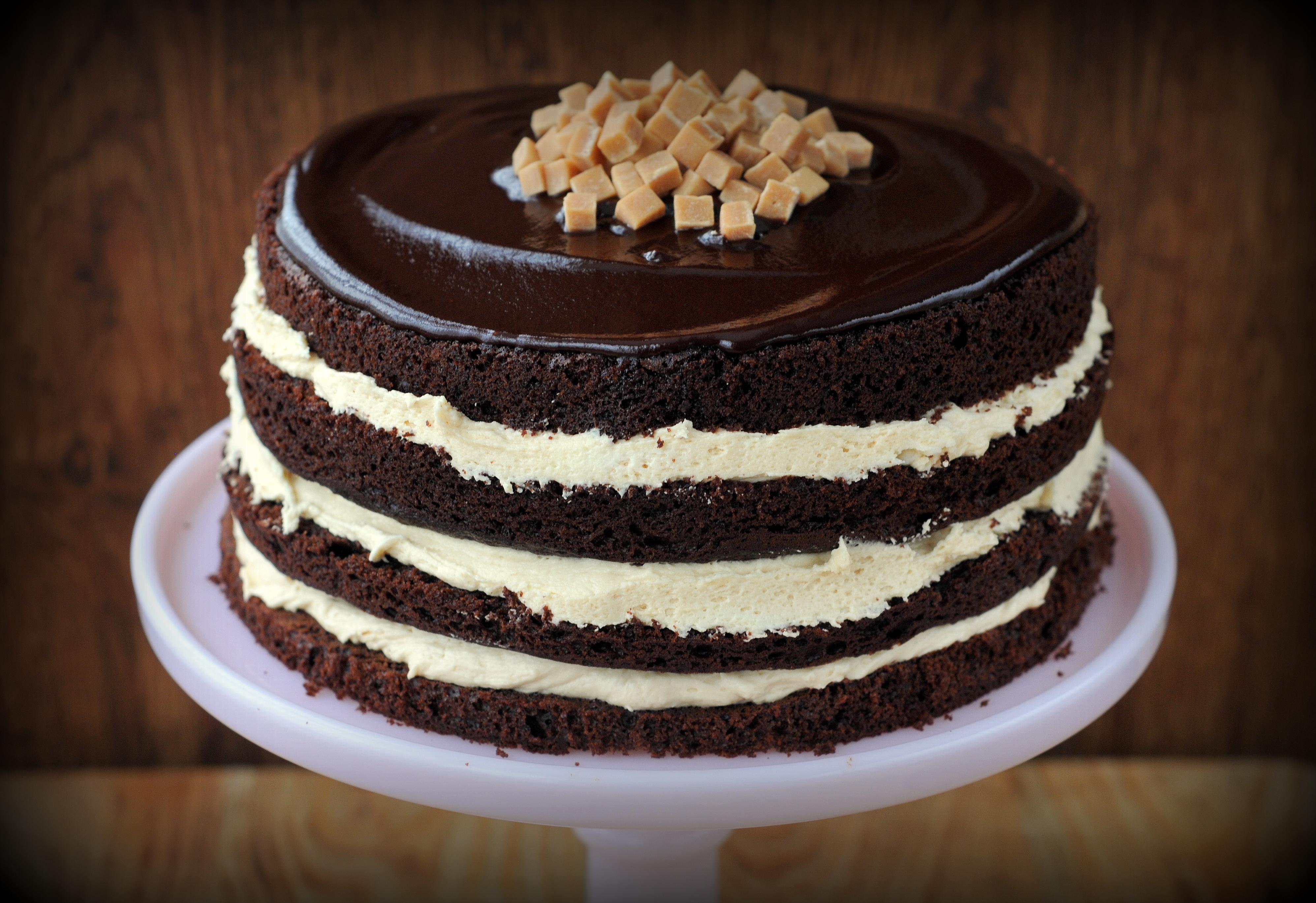 Chocolate And Caramel Cake Waitrose