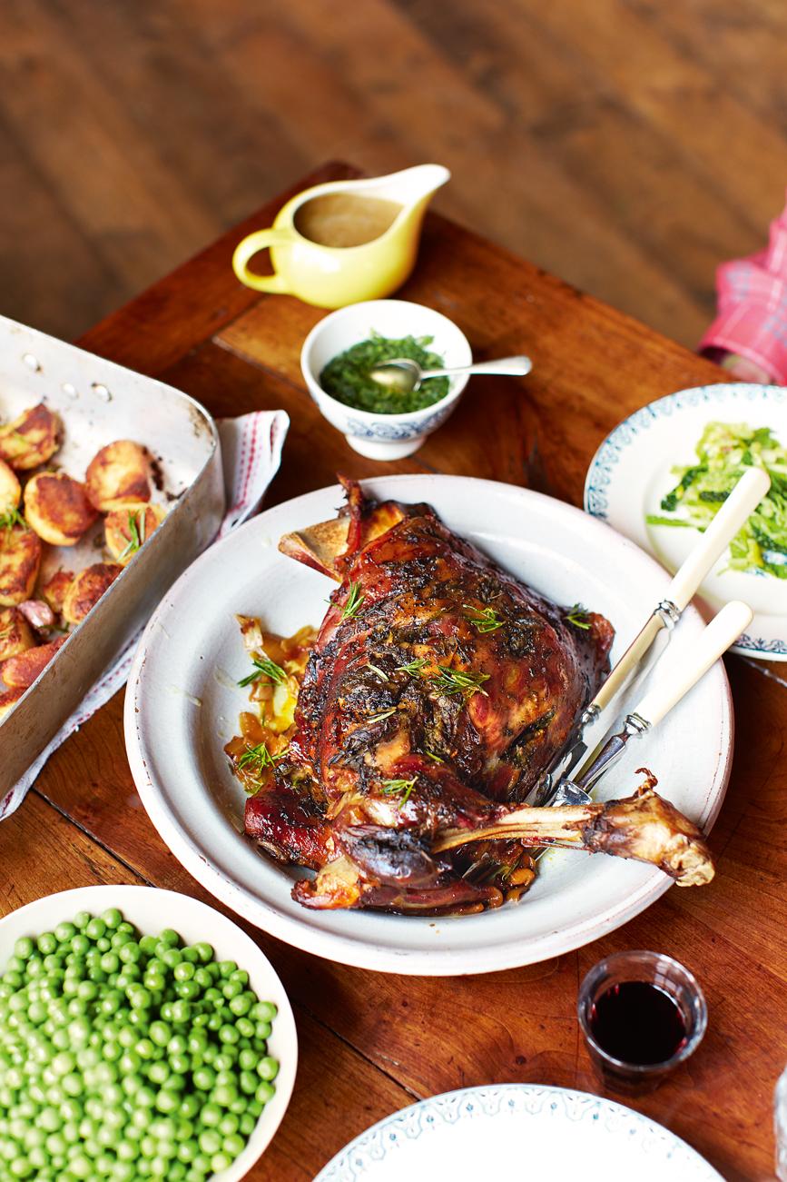 A Sneak Peek of Jamie's Mothership Sunday Roast Lamb ...