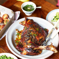 A Sneak Peek of Jamie's Mothership Sunday Roast Lamb Recipe