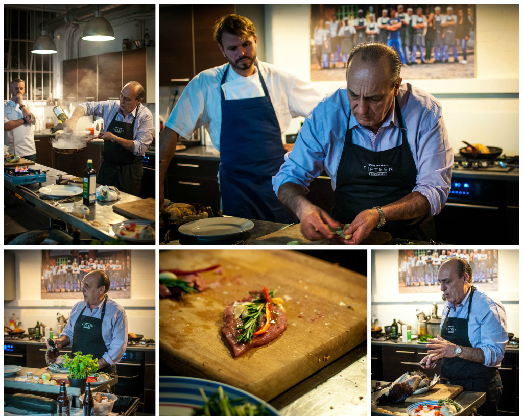 A pheasant masterclass at Jamie Oliver HQ