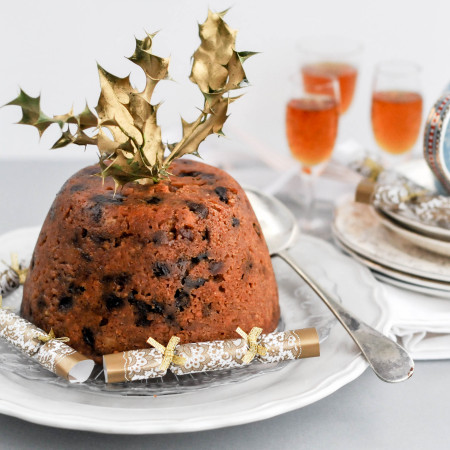 Nut Free Christmas Pudding-2808