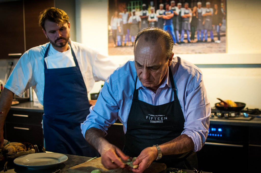 Cooking pheasant with Gennaro Contaldo