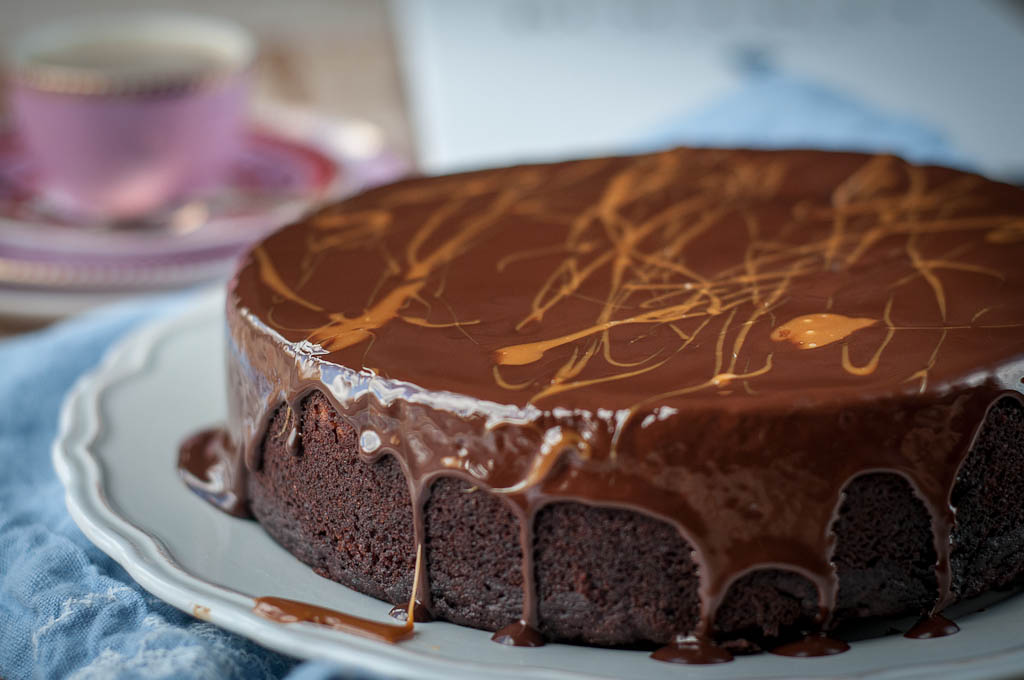 Vegan Chocolate Cake - Affinities Cake from Rococo - Ren Behan Food ...