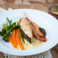 New Lurpak Cook's Range – Halibut with Herby Hollandaise