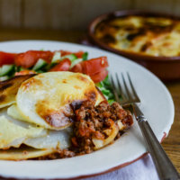 Lamb and Potato Moussaka