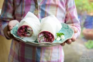 Rainbow Salad Wraps (4 of 5)