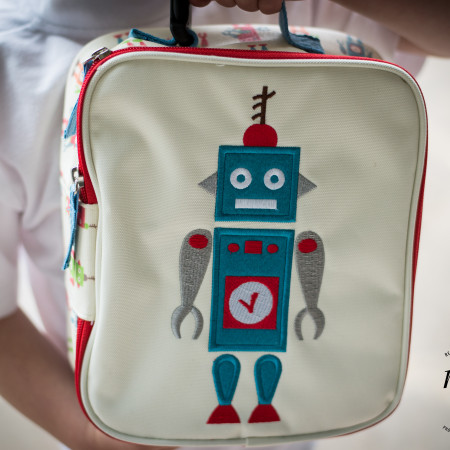 Robbie the Robot Lunch Box