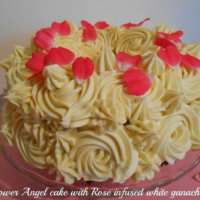 Elderflower Angel Cake