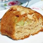 Rhubarb and Marzipan Cake