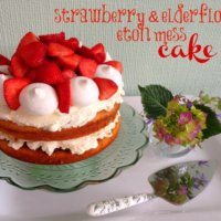 Strawberry Eton Mess Cake