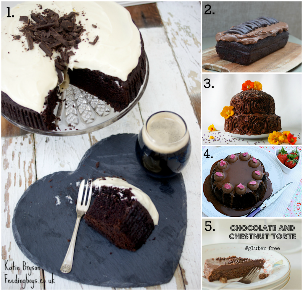 Five Chocolate Cakes
