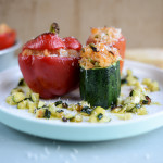 Risotto Stuffed Veg