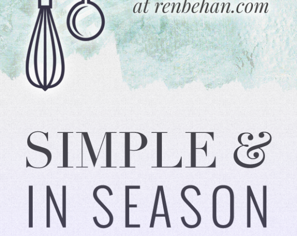 Simple and in Season – July & August – Join In!