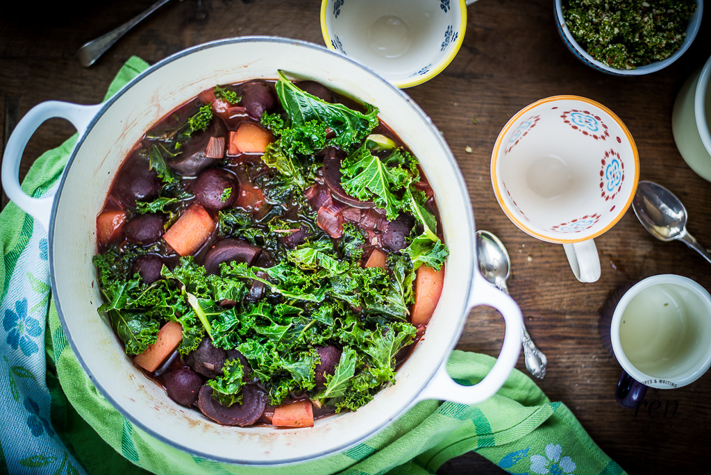 Beet And Kale Soup