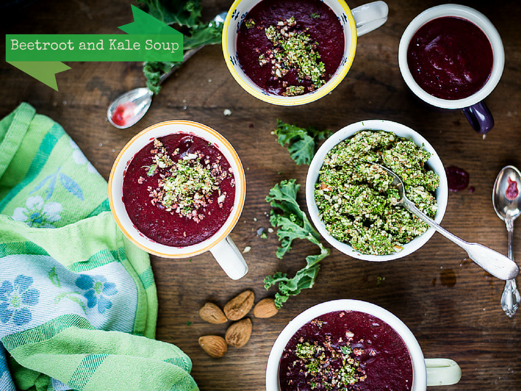 Beetroot and Kale Soup