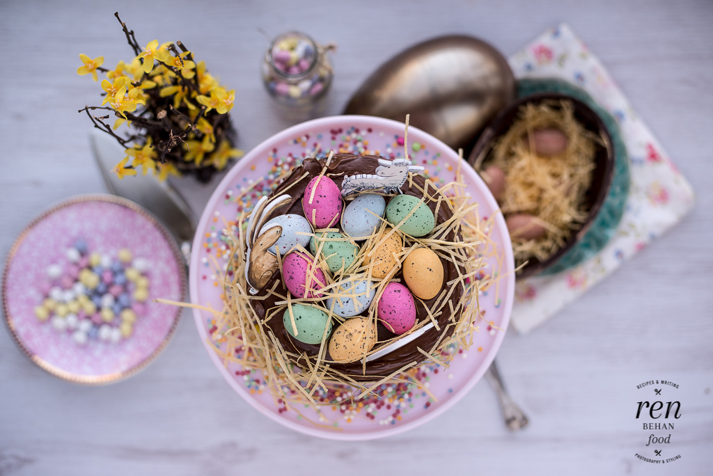 How to be a goodegg this easter with waitrose ren behan easter chooclate cake negle Image collections