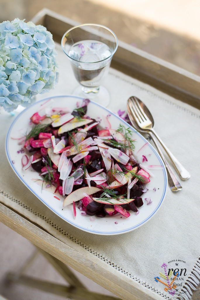 Polish Beetroot Summer Salad