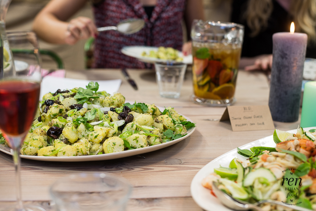The Ultimate Summer Party Six New Summer Salads From Jamie Oliver Hq Summersalads
