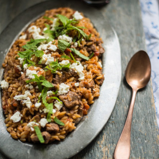 Recipe: One-Pot Cypriot Lamb with Orzo (Yiouvetsi)