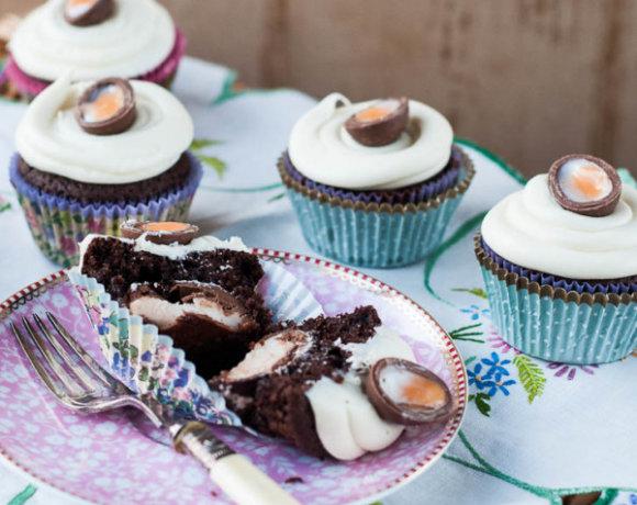 Recipe: Creme Egg Cupcakes